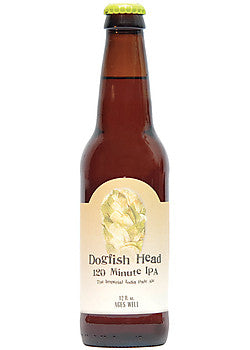 4pk-Dogfish Head 120 Minute India Pale Ale Beer, Delaware, USA (12oz)