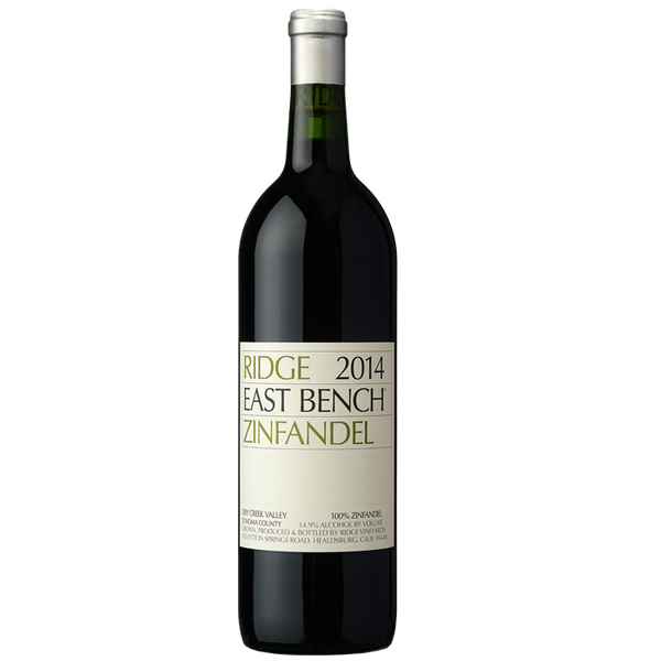 2014 Ridge Vineyards East Bench Zinfandel, Dry Creek Valley, USA (750ml)