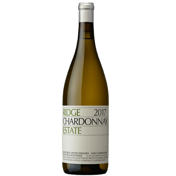 2017 Ridge Vineyards Estate Chardonnay, Santa Cruz Mountains, USA (750ml)