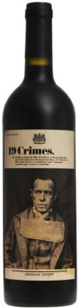 2019 19 Crimes Cabernet Sauvignon, South Eastern Australia (750 mL)