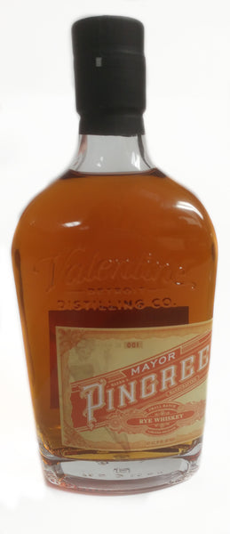 Valentine Distilling Mayor Pingree Handcrafted Small Batch Rye Whiskey, Michigan, USA (750ml)