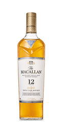 The Macallan Triple Cask Matured Fine Oak 12 Year Old Single Malt Scotch Whisky, Speyside - Highlands, Scotland (750ml)