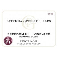 2018 Patricia Green Cellars Freedom Hill Vineyard Pommard Clone Pinot Noir, Willamette Valley, USA (750ml)