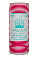 Pampelonne Blood Orange Sparkling, Loire, France (case, 6 x 4pk cans)