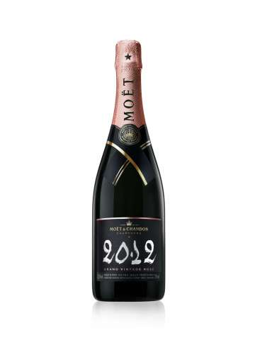 2012 Moet & Chandon Grand Vintage Brut Rose, Champagne, France (750ml)