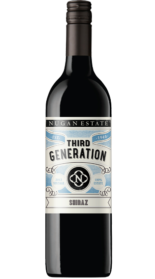 2014 Nugan Estate Third Generation Shiraz, South Eastern Australia (750ml)