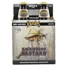 4pk-Founders Brewing Co. Backwoods Bastard Bourbon Barrel Aged Ale Beer, Michigan, USA (12oz)