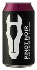 NV Dark Horse Pinot Noir, California, USA (12 pk cans, 375ml)