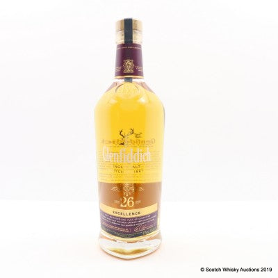 Glenfiddich 'Excellence' 26 Year Old Single Malt Scotch Whisky, Speyside, Scotland (750 ml)