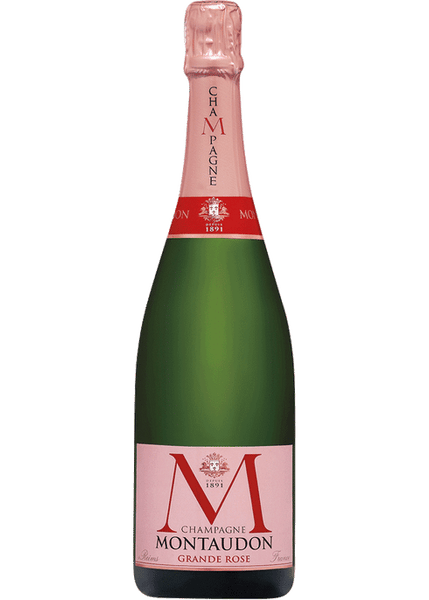 NV Montaudon Grande Rose Brut, Champagne, France (750ml)