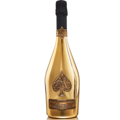 Armand de Brignac Ace of Spades Gold Brut, Champagne, France (750ml)