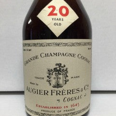 Augier Freres & Co 20 Year Grande Champagne Cognac, France (750ml)