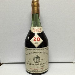 Augier Freres & Co 20 Year Grande Champagne Cognac, France