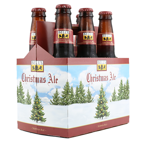 6pk-Bell's Christmas Scotch Ale Beer, Michigan, USA (12oz)