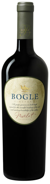 2014 Bogle Vineyards Merlot, California, USA (750ml)