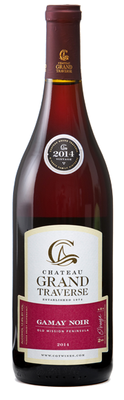 2014 Chateau Grand Traverse Gamay Noir, Old Mission Peninsula, USA (750ml)
