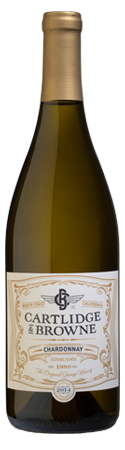 2014 Cartlidge & Browne California Chardonnay, USA (750 mL)