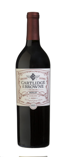 2015 Cartlidge & Browne Merlot, North Coast, USA (750ml)
