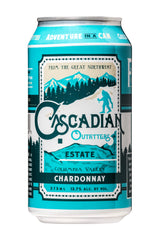 NV Cascadian Chardonnay, Columbia Valley, USA (24 pk cans, 375ml)