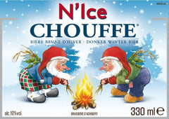 24pk-Brasserie D'Achouffe N'Ice Chouffe Strong Brown Ale Beer, Belgium (330ml)