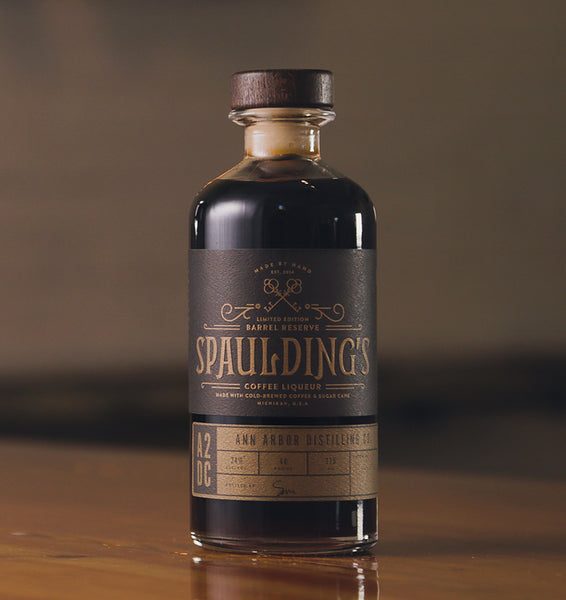 Ann Arbor Distilling Spaulding's Coffee Liqueur, Michigan, USA (750ml)