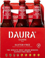 24pk-Damm Daura Gluten-Free Lager Beer, Spain (330ml)