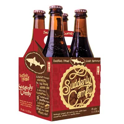 24pk-Dogfish Head Suddenly Comfy Imperial Cream Ale Beer, Delaware, USA (12oz)