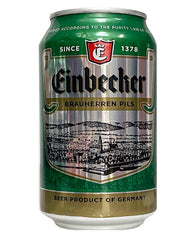 (6pk cans)-Einbecker Brauherren Pilsener Beer, Germany (330ml)