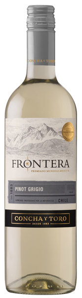 2019 Concha y Toro Frontera Pinot Grigio, Central Valley, Chile (750ml)