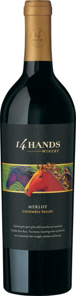 2016 14 Hands Vineyards Merlot, Washington, USA (750ml)