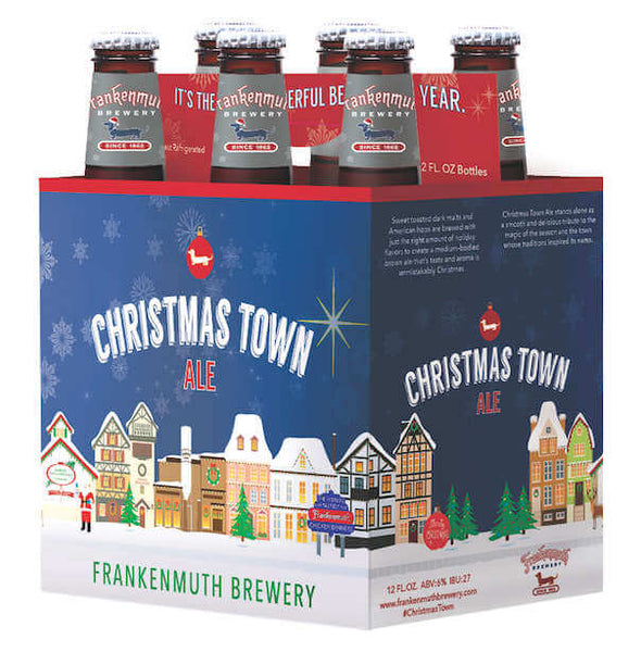 6pk-Frankenmuth Christmas Town Ale Beer, Michigan, USA (12oz)