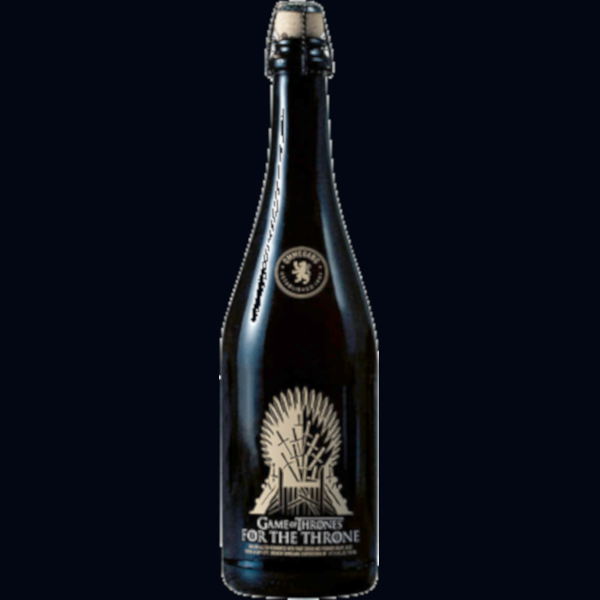"Ommegang Brewery ""Game Of Thrones"" For The Throne Strong Golden Ale Beer, New York, USA (750ml)"
