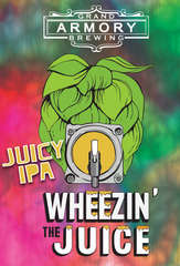 (6pk cans)-Grand Armory Wheezin' The Juice India Pale Ale Beer, Michigan, USA (12oz)