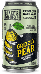 "(6pk cans)-Blake's ""Grizzly Pear"" Hard Cider, Michigan, USA (12oz)"