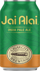 (24pk cans)-Cigar City Brewing Jai Alai India Pale Ale Beer, Florida, USA (12oz)