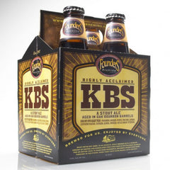 4pk-2018 Founders Brewing Co. KBS - Kentucky Breakfast Stout Beer, Michigan, USA (12oz)