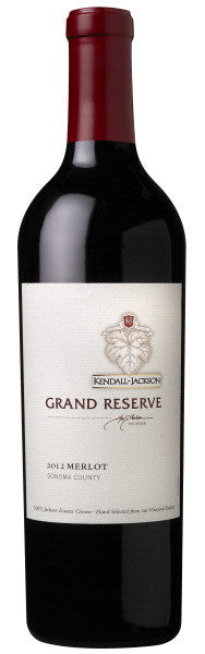 2012 Kendall-Jackson Grand Reserve Merlot, Sonoma-Napa Counties, USA (750ml)
