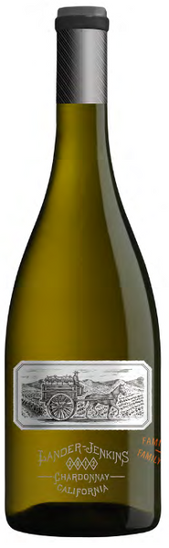 2014 Lander-Jenkins Vineyards Spirit Hawk Chardonnay, California, USA