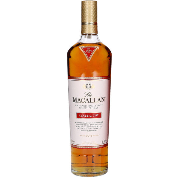2018 The Macallan Limited Edition Classic Cut Single Malt Scotch Whisky, Speyside - Highlands, Scotland (750ml)