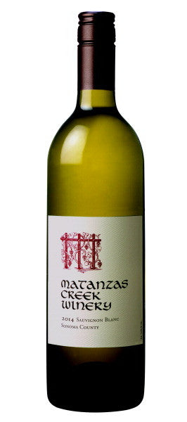 2014 Matanzas Creek Sauvignon Blanc, Sonoma County, USA (750ml)