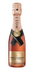NV Moet & Chandon Nectar Imperial Rose, Champagne, France (187ml QUARTER BOTTLE)