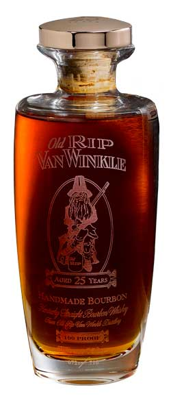 Old Rip Van Winkle 'Pappy Van Winkle' 25 Year Old Kentucky Straight Bourbon Whiskey, Kentucky, USA (750ml)