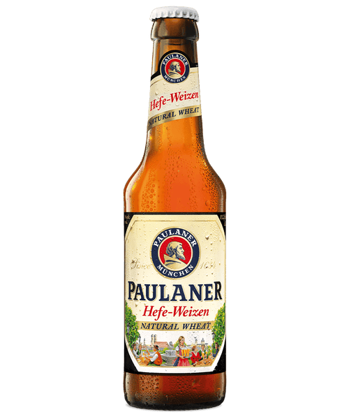 12pk-Paulaner Hefe-Weizen Natural Wheat Beer, Germany (330ml)