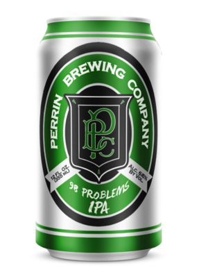 (6pk cans)-Perrin 98 Problems India Pale Ale Beer, Michigan, USA (12oz)