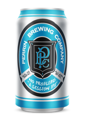 (24pk cans)-Perrin No Problems Session India Pale Ale Beer, Michigan, USA (12oz)