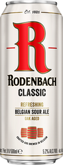 (4pk cans)-Rodenbach Classic Flemish Red-Brown Ale Beer, Belgium (500ml)