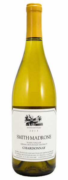 2016 Smith Madrone Chardonnay, Spring Mountain District, USA (750ml)