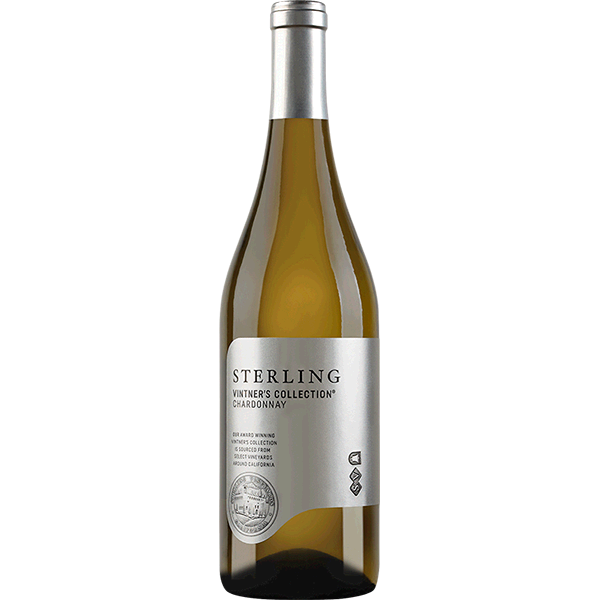 2017 Sterling Vineyards Vintner's Collection Chardonnay, Central Coast, USA (750ml)