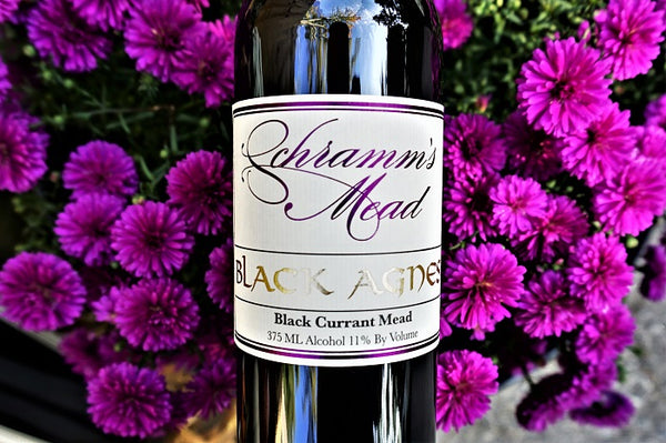 Schramm's Black Agnes Black Currant Mead, Michigan, USA (375ml) HALF BOTTLE