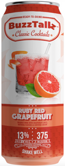 NV BuzzTallz Ruby Red Grapefruit, USA (6 x 4 pk cans, 375ml)